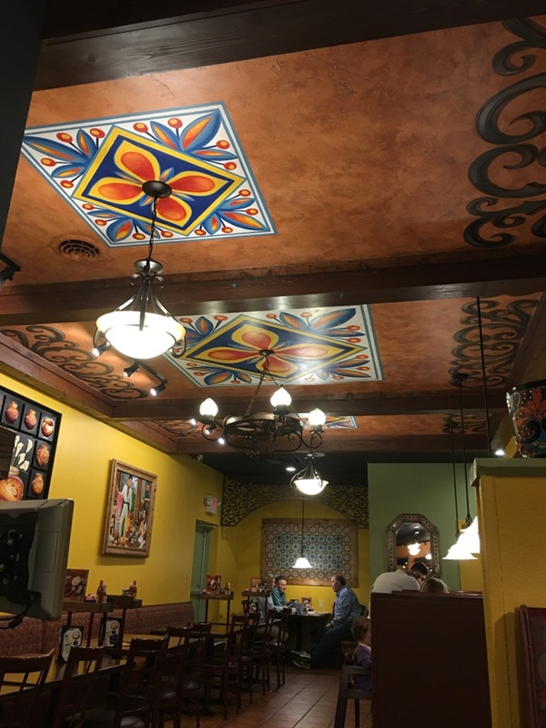 Mexican Restaurant Decorative Ceiling (South Point, OH 2017)