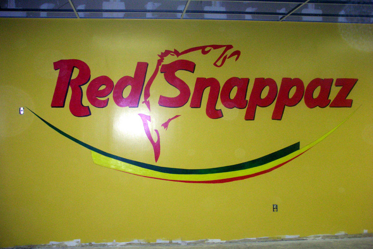 Red Snappaz Jamaican Eatery, Company Logo & Van, Laurel, MD 2007