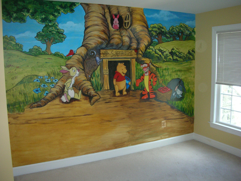 Winnie the Pooh Theme, Tranium Residence, Mt. Airy, MD 2009