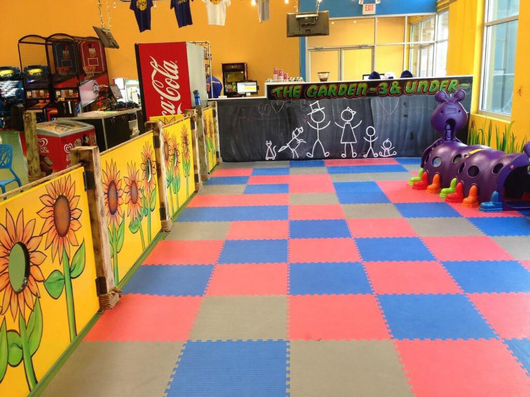 Toddler Area, Climbzone Indoor Gym, Laurel, MD 2015