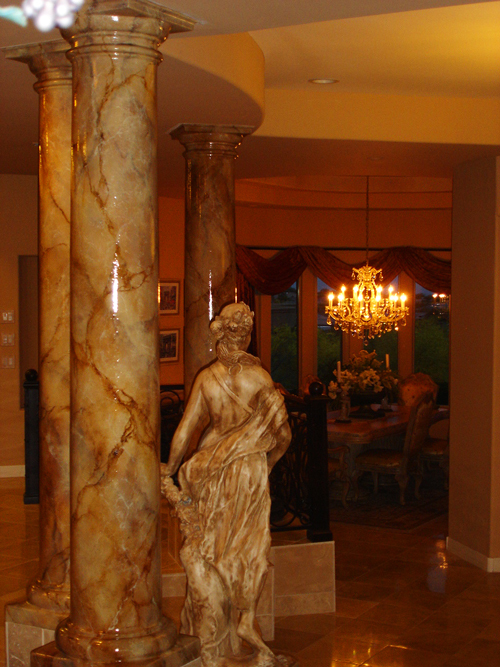 Marble Columns Mural Photo Album By Skywoods Decorative