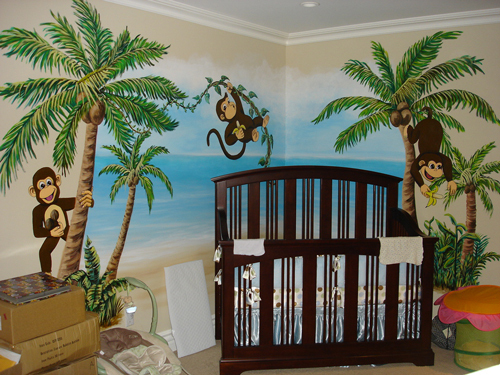 Baby room nursery murals mural photo album by skywoods for Baby room tree mural