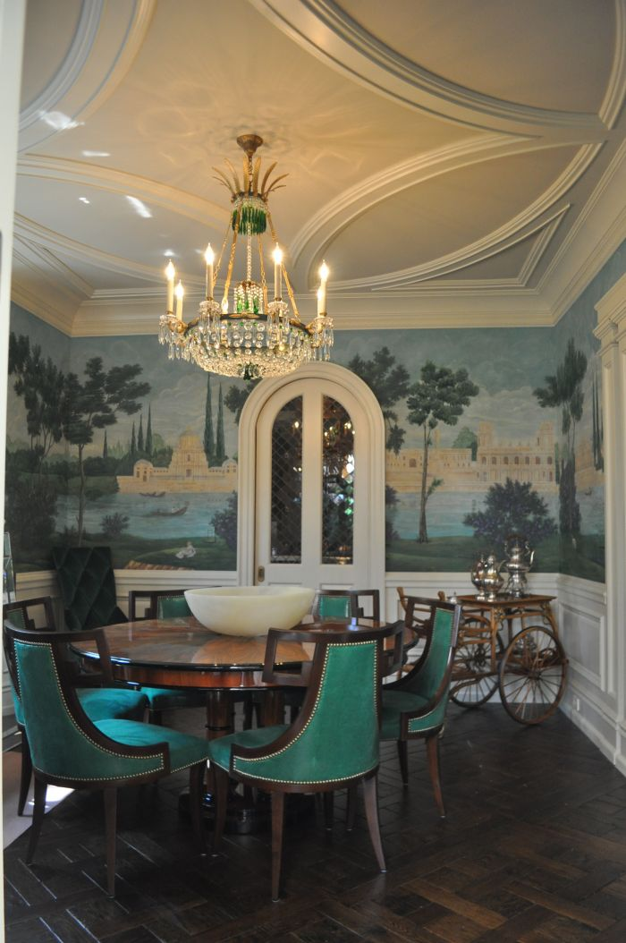 Greenwich CT Dining Room Mural