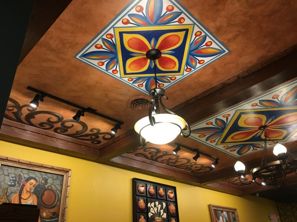Mexican Restaurant Decorative Ceiling South Point Oh