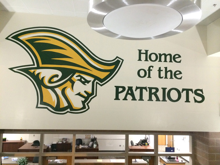 Independence High School Logo - Mural Photo Album By Robin Puckett