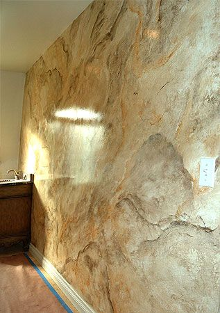 Faux finishing and decorative painting mural photo album for How to paint faux marble wall