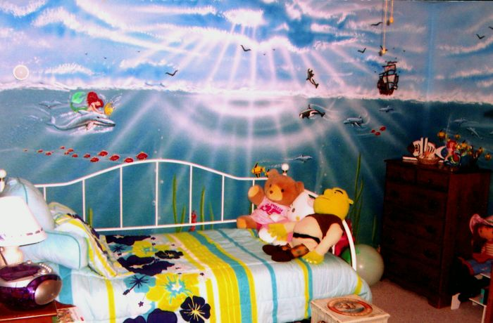 This Is Part Of A Complete Surround Themed Room For A 7 Year Old Little  Girl.