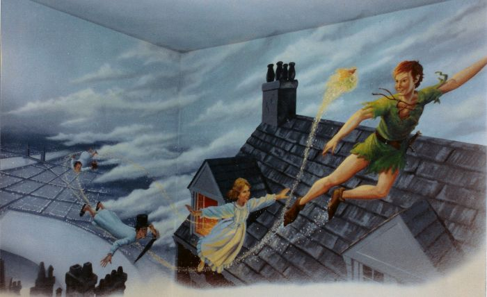 Peter Pan. This Was Painted In A Bedroom In Calabasas. Check Out Jeffu0027s  Complete Web Site At Jeffraum.com Part 85