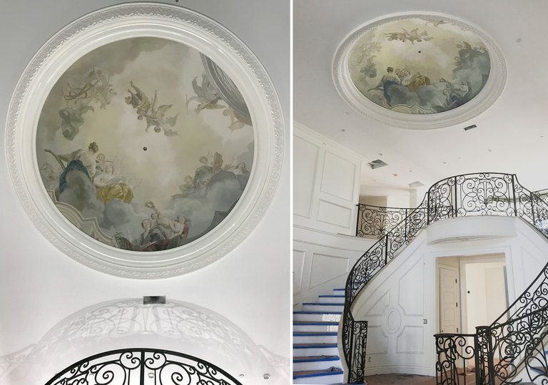 Interior Mural Ideas Painting Hand Painted Wallpaper Custom Find A Muralist Seeking Los Angeles