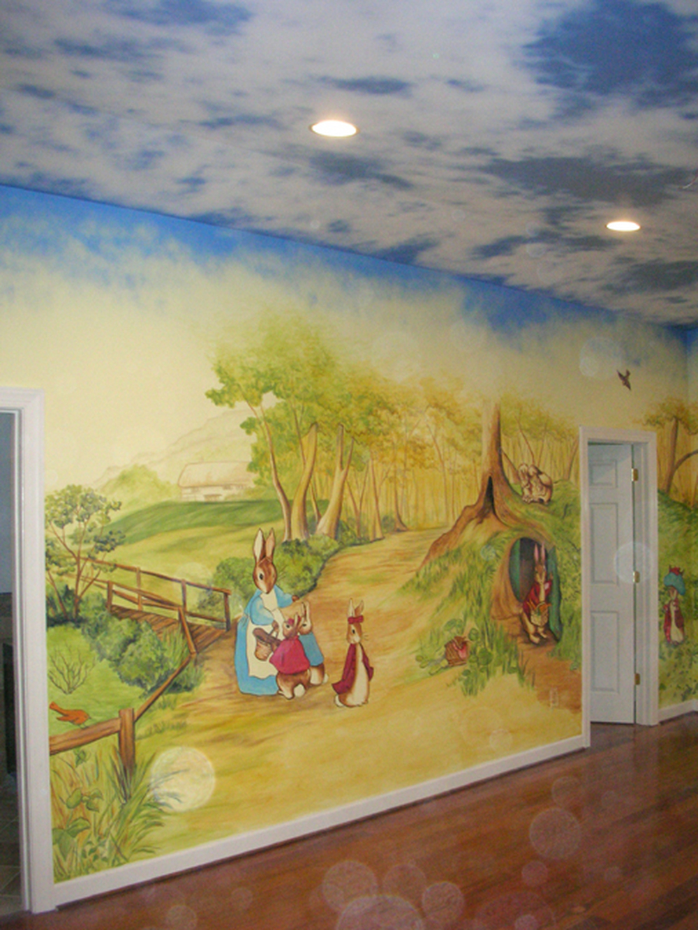 Beatrix Potter Theme Nursery, Sharmeen Residence, Northern, VA, 2010 ...