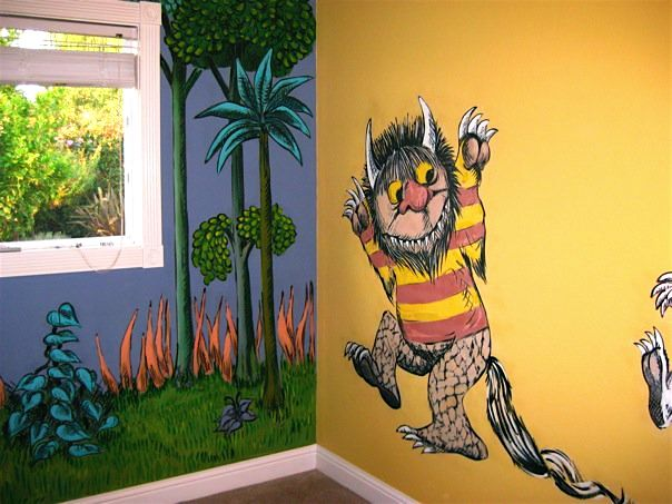 Where the Wild Things Are Mural Photo Album By Kristen Parker