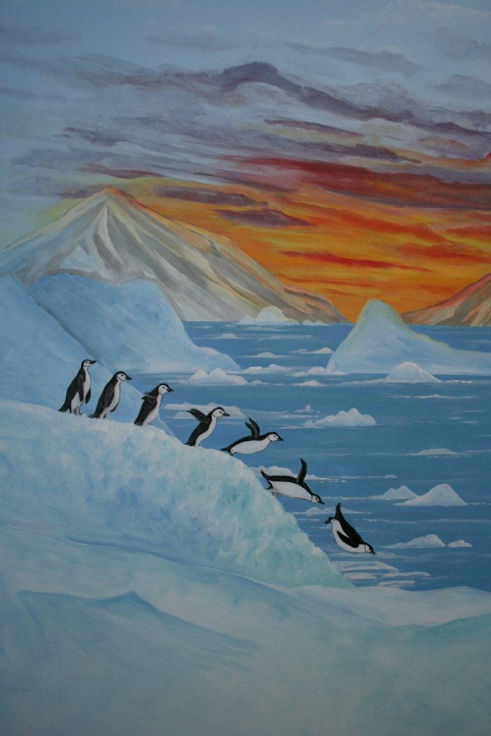 Antarctica Amp Penguins Room Mural Photo Album By Robin