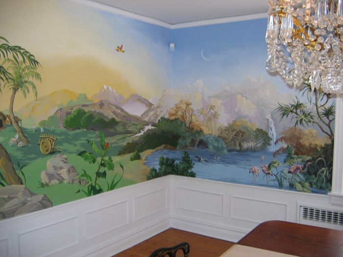 Homes And Businesses Mural Photo Album By Lisa Samalin