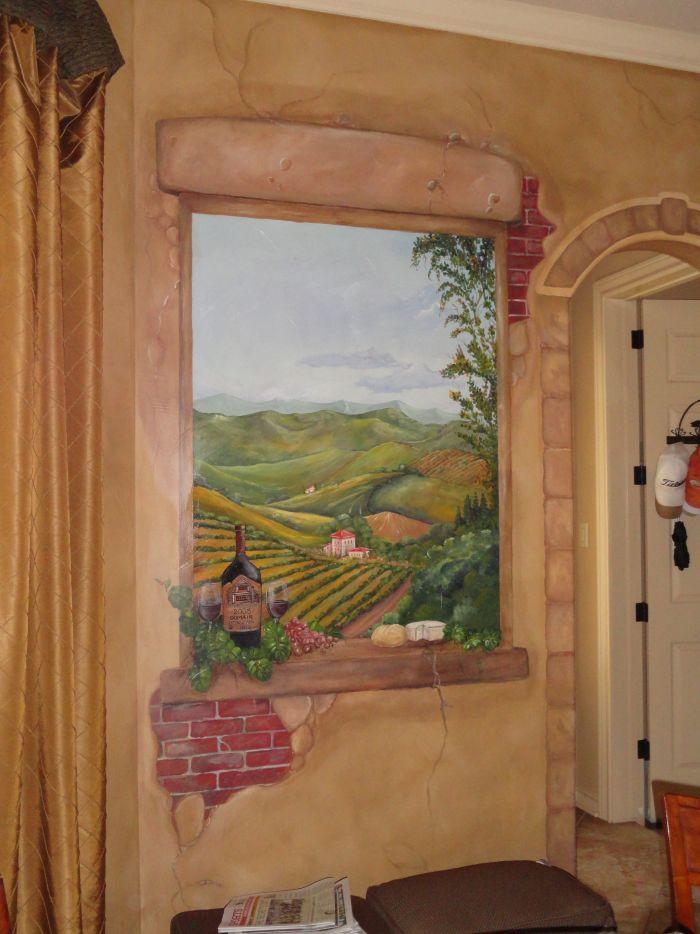 Murals And Trompe L Oeil 1000 Mural Photo Album By