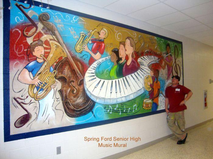 Music Mural Mural Photo Album By Edward Luterio